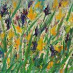 Irisis. Temo Svirely, georgian-ukrainian artist (born 1965 in Georgia-died 2014 in Ukraine), oil, canvas, 2012