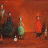 Сім'я. Темо Свірелі, грузинський та український художник (народився в 1965 році в Грузії - помер в 2014 році в Україні), олія, полотно, 2001