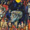The Hell. Temo Svirely, georgian-ukrainian artist (born 1965 in Georgia- died 2014 in Ukraine), oil, canvas, 2010