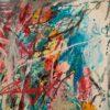 May. Temo Svirely, georgian-ukrainian artist (born 1965 in Georgia- died 2014 in Ukraine), oil on canvas, 1996