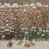 Winter. Temo Svirely, georgian-ukrainian artist (born 1965 in Georgia - died 2014 in Ukraine), oil, canvas, 2014