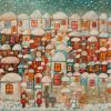 Winter. Temo Svirely, georgian-ukrainian artist (born 1965 in Georgia- died 2014 in Ukraine), oil, canvas, 2013
